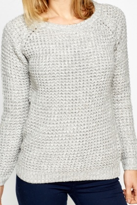 Loose Chunky Knit Jumper
