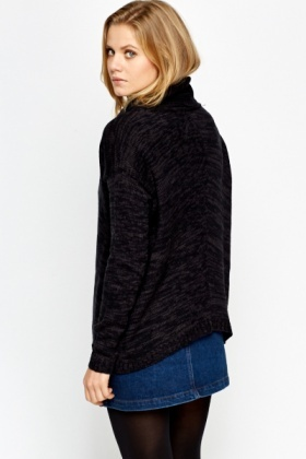 Oversized Speckled Jumper
