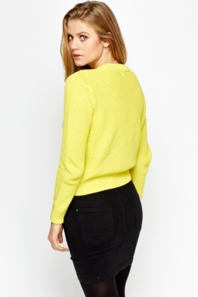 Ribbed Cotton Jumper