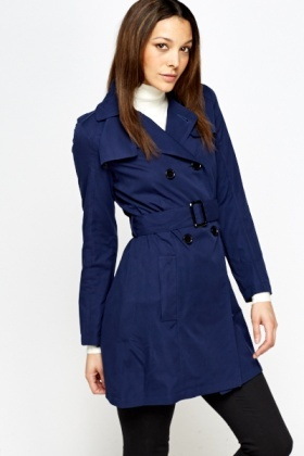 Collared Trench Coat