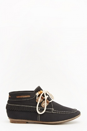 Moccasin Ankle Boots