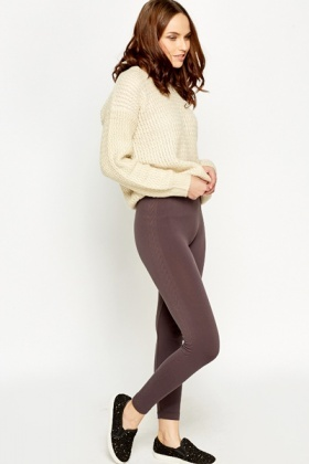 Casual Fleece Leggings