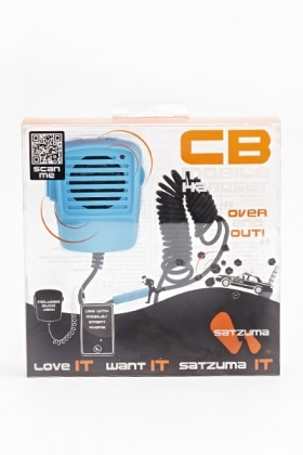 Cb Mobile Blue Handset