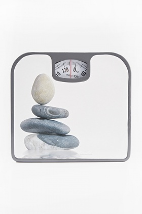 Grey Mechanical Bathroom Scales