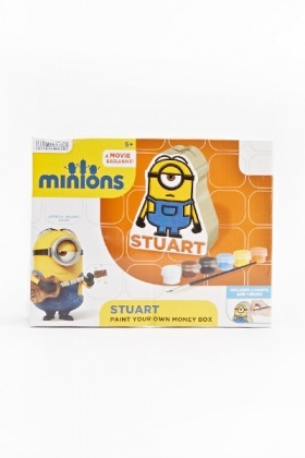 Minions Paint Your Own Money Box