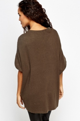 Embellished Neck Knit Jumper