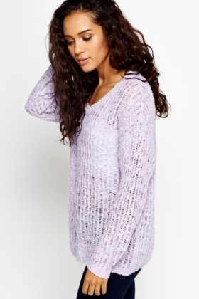 Loose Knit Casual Sweater