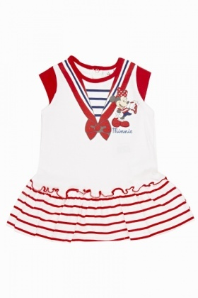Minnie Mouse Sailor Frill Dress