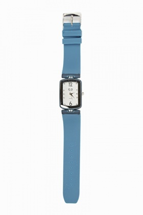 Rubber Strap Small Face Watch