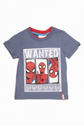 Spider Man Wanted T-Shirt