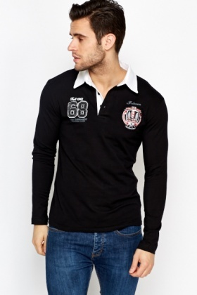 Contrast Rugby Shirt