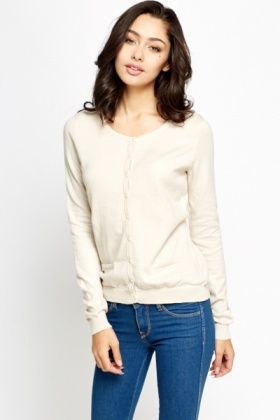 Casual Button Front Cardigan