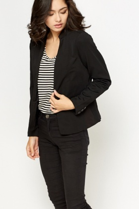 Casual Button Up Blazer