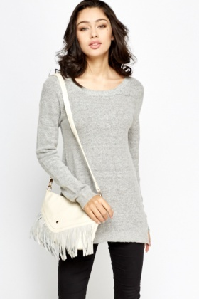 Casual Soft Knit Jumper