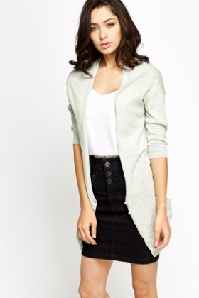 Low Neck Cardigan