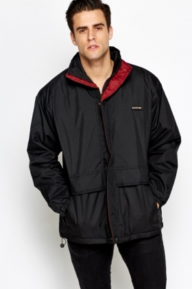 Padded High Neck Jacket