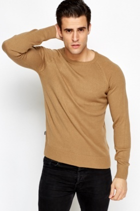 Ribbed Trim Jumper