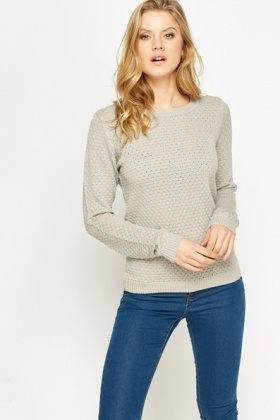 Diamond Knit Jumper