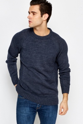 Casual Mens Knit Jumper