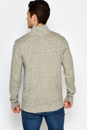 Cream Speckled Jumper