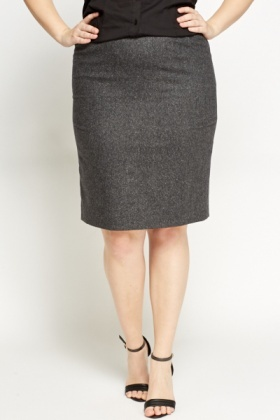 Dark Grey Formal Skirt - Just £5