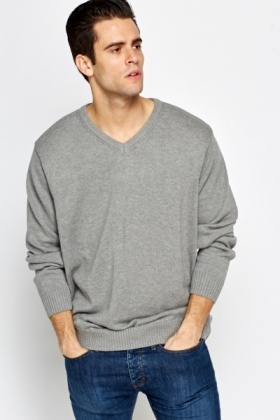 Loose Fit Knit Jumper