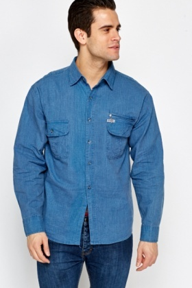Multi Pocket Front Shirt