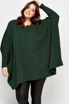 Oversized Batwing Jumper