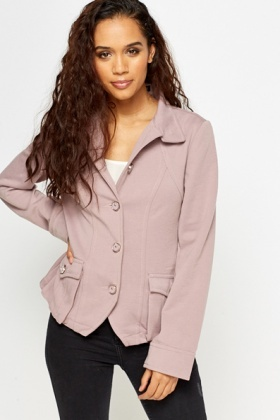 Button Front Jacket