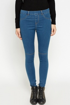 Denim Blue Jeggings