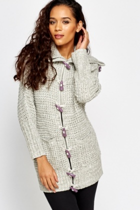Toggle Front Cardigan