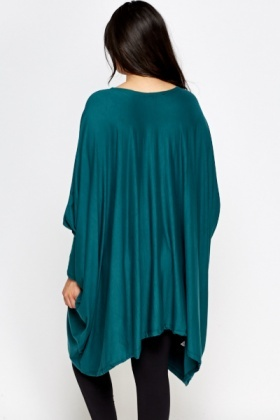 Batwing Asymmetric Dress