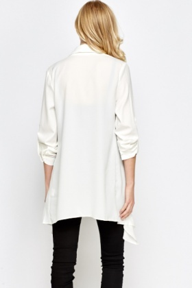 Asymmetric Waterfall Jacket