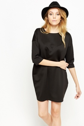 Round Neck Oversized Dress