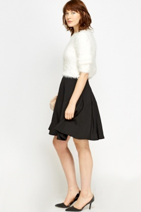 Fluffy Cropped Jumper