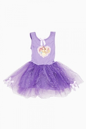 Purple Disney Princess Dress