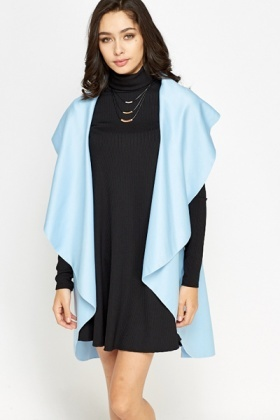 Open Waterfall Sleeveless Cardigan
