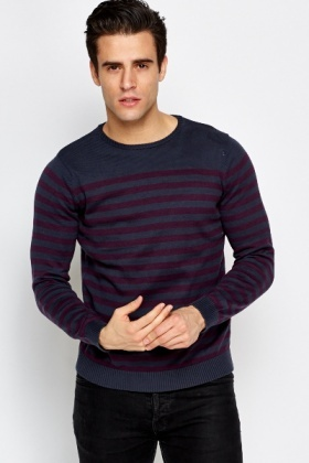 Speckled Striped Jumper