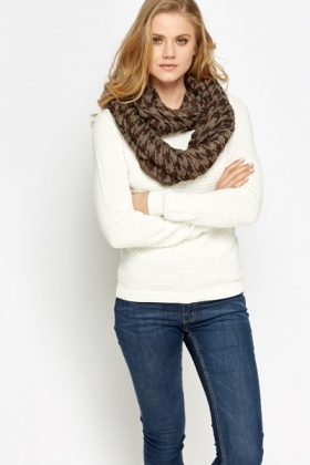 Houndstooth Soft Snood