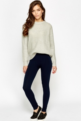 Textured Fleeced Leggings