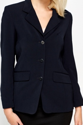 Navy Formal Suit Jacket
