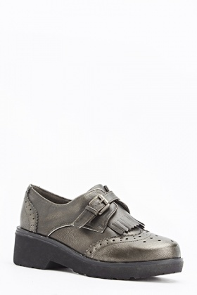 Fringed Front Laser Cut Brogues