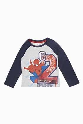 Spiderman Long Sleeve Top