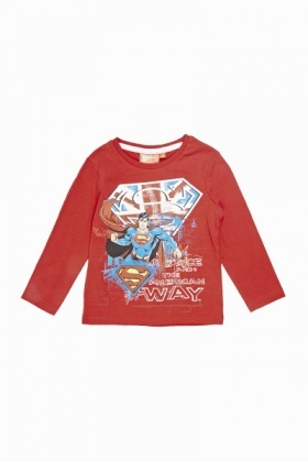 Superman Long Sleeve Top
