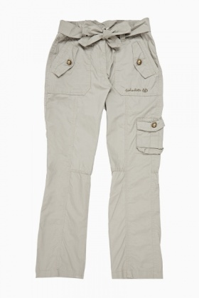 Tie Up Combat Trousers