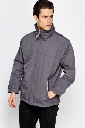 High Neck Mens Jacket