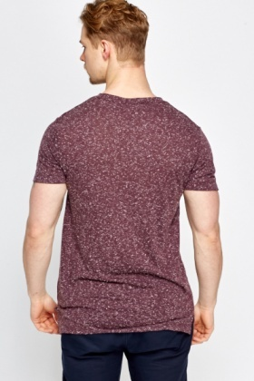 Plum Speckled T-Shirt