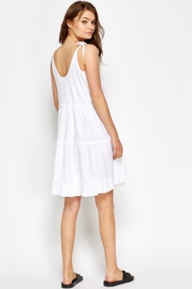 e03bc53f9c5 A-Line Linen Summer Flow Dress