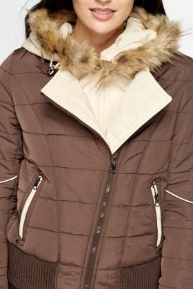 Brown Padded Coat - Just £5