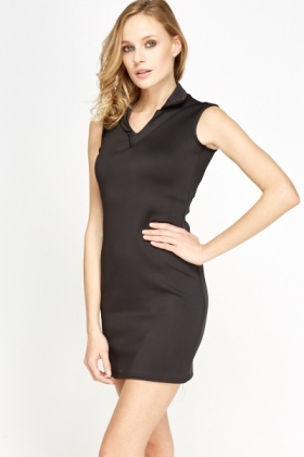 Scuba Little Black Dress